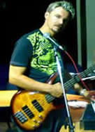 Anthonly, bass guitarist and vocalist from the undercover band